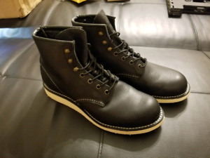 Mens Red Wing Mock Boots Size 8.5