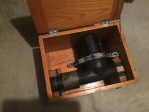 WW2 US navy telescope