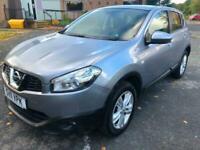 2011 Grey Nissan Qashqai 1.6 Acenta SUV 90K Clean Cheap Car! 12 Month MOT CAT N