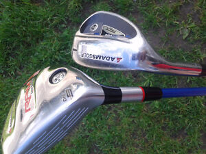 Left Handed Driver and Loft Iron ADAMSGOLF