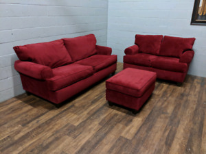 (Free Delivery) - 3-piece sofa set