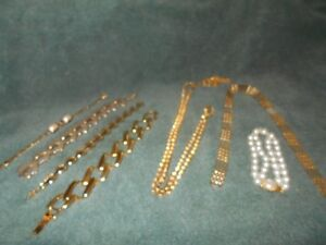 womens customs bracelets and necklace.