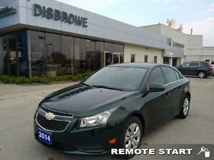 2014 Chevrolet Cruze 1LT   Remote Start, Accident-Free, Trade In
