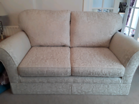 2 luxury M&S Sofas,1small,1 medium, in lovely condition.