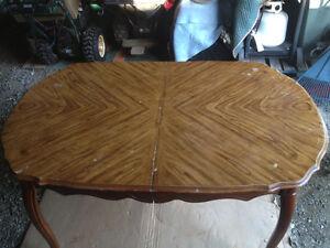 Solid Wood Older Table - $60. St. John's Newfoundland image 3