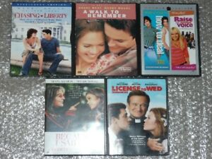 MANDY MOORE Chasing*Liberty/ License To Wed Collection _lot of 5