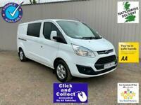 2016 Ford Transit Custom 290 2.0 130 L2H1 LWB LIMITED DOUBLE CAB N VAN Combi Van