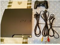 PS3 Games Console + 18 games