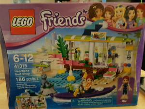 LEGO Heart Lake Surf Shop