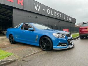 2014 Holden Ute VF MY14 SV6 Ute Storm Blue 6 Speed Sports Automatic Utility