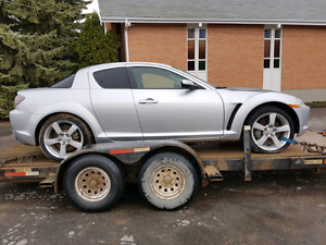PARTING OUT / WRECKING: 2004 MAZDA RX8 GT