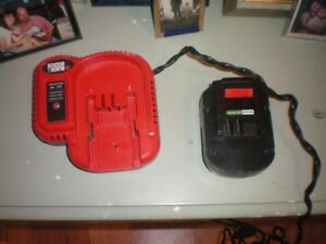 Black & Decker Batteries and Charger