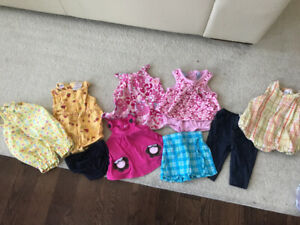 Baby girl 0-6 month summer clothing
