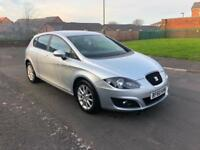 2010 SEAT LEON 1.6 TDI SE LOW INSURANCE CHEAP TAX HUGE MPG NICE SPEC CAR WARRANT