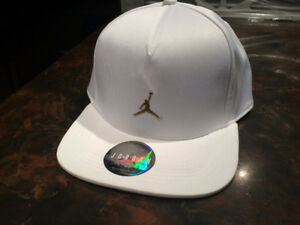 Brand new white/gold Jordan ovo hat