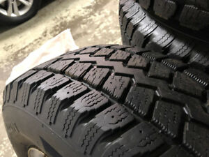 5 Winter Tires on Factory Jeep Rims - 225/75R16