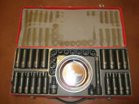 Douilles percussion, impact sockets, Stanley