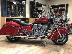 2017 Indian Motorcycle Springfield Indian Motorcycle Red