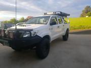 2013 hilux duel cab turbo diesel sr Burnie Burnie Area Preview