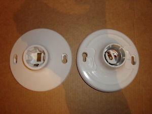 Ceiling light fixtures (set of 2 for $5)