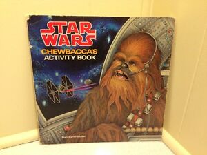 Star Wars Chewbaccas Activity Book Random House 1979 Luke Solo