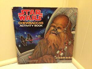 Star Wars Chewbaccas Activity Book Random House 1979 Luke Solo