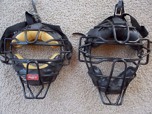 catcher/umpire adjustable mask-Rawlings London Ontario image 1