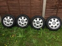 "Vw polo 14"" alloy wheels"