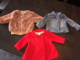 Baby Girls 6-9 Months jackets for Sale