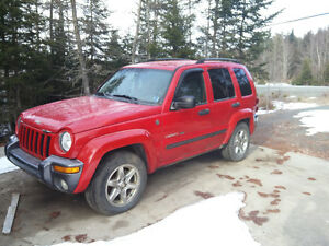 2004 Jeep Liberty Trail Edition