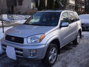 2003 Toyota RAV4, Low Mileage & Well Maintained