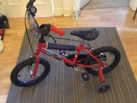 Halfords spiderman bike