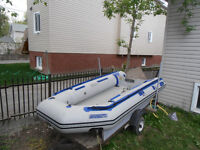 10.6 SR SeaEagle Inflatable boat with trailer
