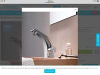 Bathstore Sublime Mono Basin Mixer without Popup Waste