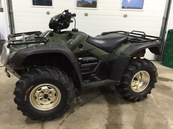 Used 2011 Honda rubicon trail edition