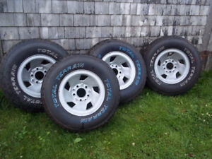 Total Terrian Tires - BRAND NEW and MOUNTED
