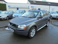VOLVO XC90 2.4 D5 SE AWD AUTOMATIC GEARTRONIC 4WD DIESEL 54reg BLACK LEATHER