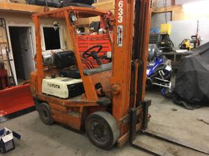 LPG Toyota Forklift 5000 lb