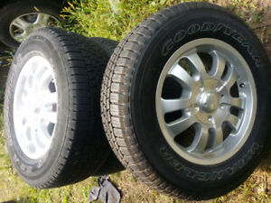 5X135 – from 2001 f150 rims and tires