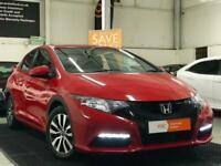 2014 Honda Civic 1.6 i-DTEC S 5dr (DAB/Premium Audio/Bluetooth) Hatchback Diesel