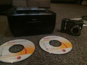 Kodak camera and easy share printer dock g610
