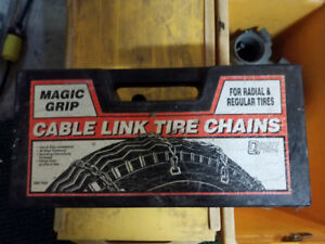 """Tire chains 13"""" and up to 19"""""""