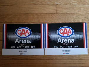 Belleville Sens Opening Game tonight .. 2 tickets, 1st Row