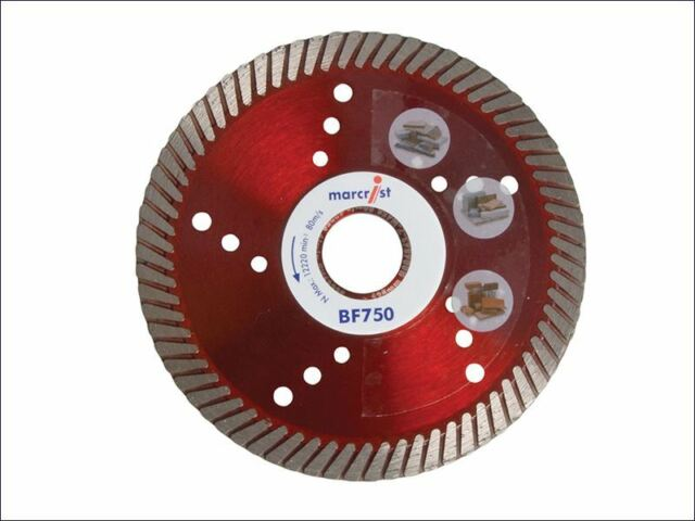 Marcrist - BF750 Diamond Blade Fast Precision Cut 115mm x 22.2mm