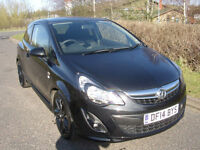 2014 Vauxhall Corsa 1.2i 16v 85ps Limited Edition a/c, ONLY 21077 MILES, 1 OWNER
