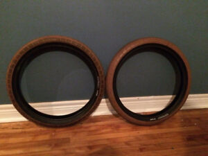 """20"""" odessey bmx tires (used)"""
