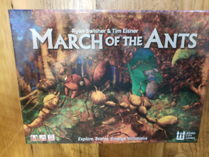 March of the Ants - boardgame