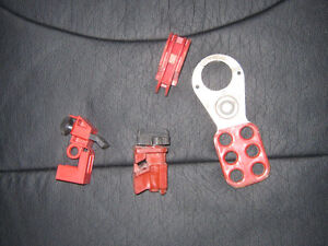 Electrical breaker lock out stuff Kitchener / Waterloo Kitchener Area image 1