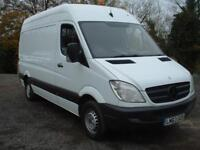 MERC SPRINTER 313 MWB 2013 ONE OWNER FULL MERC SERVICE HIST £6495 NO VAT