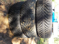 SEVERAL TIRES FOR SALE 14,15,&16 INCH